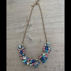 J crew encrusted necklace